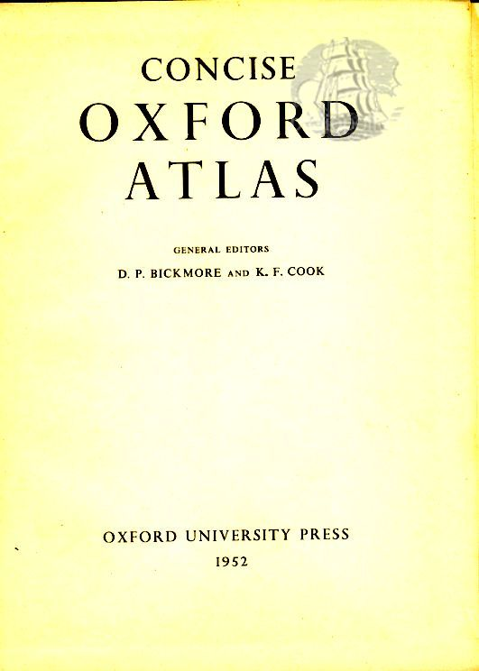 Consice Oχford Atlas